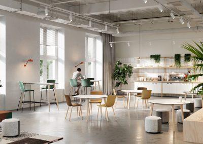 mesas bajas mobiliario oficina