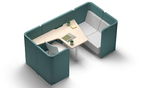 Mobiliario reunion y colaboracion